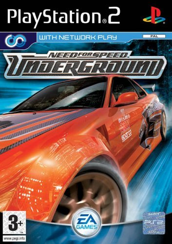 Need for Speed Underground PS2 (käytetty) CiB