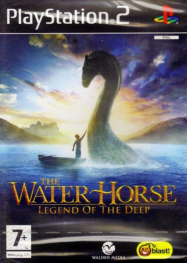 The Waterhorse Legend of the Deep PS2 (käytetty) CiB