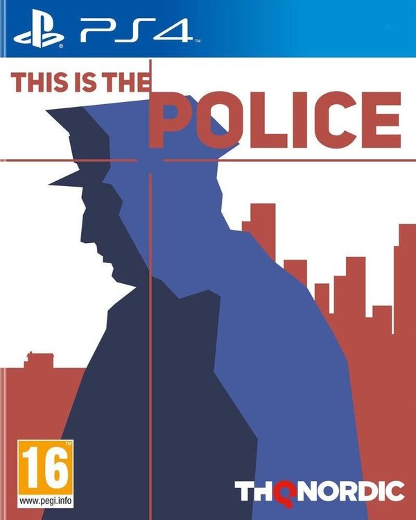 This is the Police PS4 (käytetty)